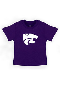 K-State Wildcats Infant Primary Logo T-Shirt - Purple