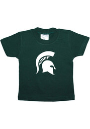 Michigan State Spartans Infant Primary Logo Short Sleeve T-Shirt Green