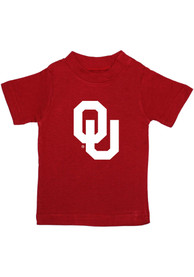 Oklahoma Sooners Infant Primary Logo T-Shirt - Red