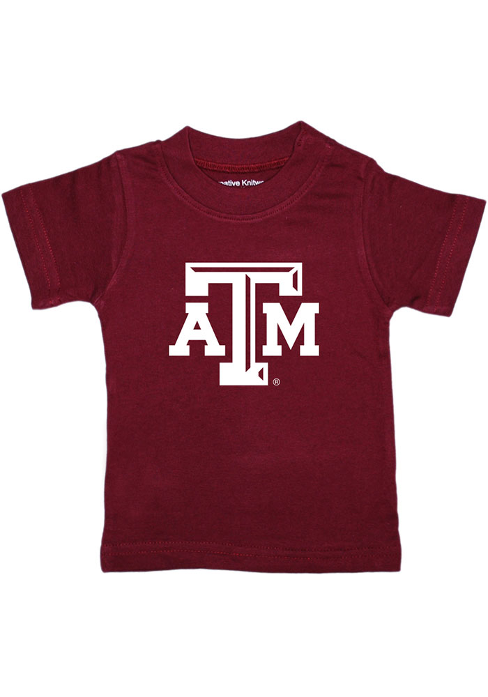 Texas A&M Aggies Infant Primary Logo T-Shirt - Maroon