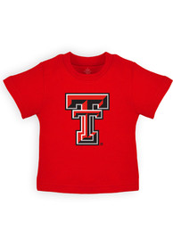 Texas Tech Red Raiders Infant Primary Logo T-Shirt - Red
