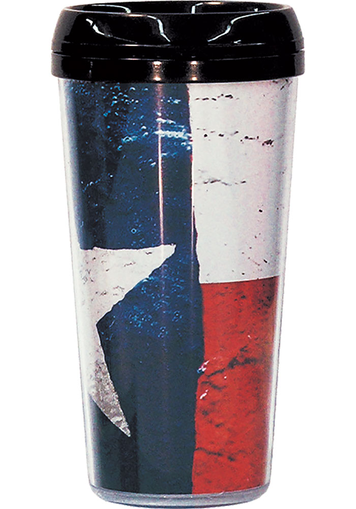 Texas State Flag Travel Mug - Image 1