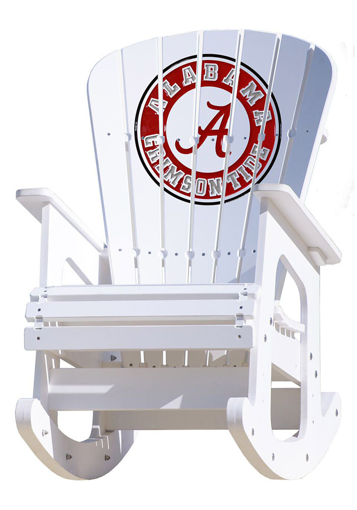 Alabama Crimson Tide Rocking Beach Chairs - Image 1