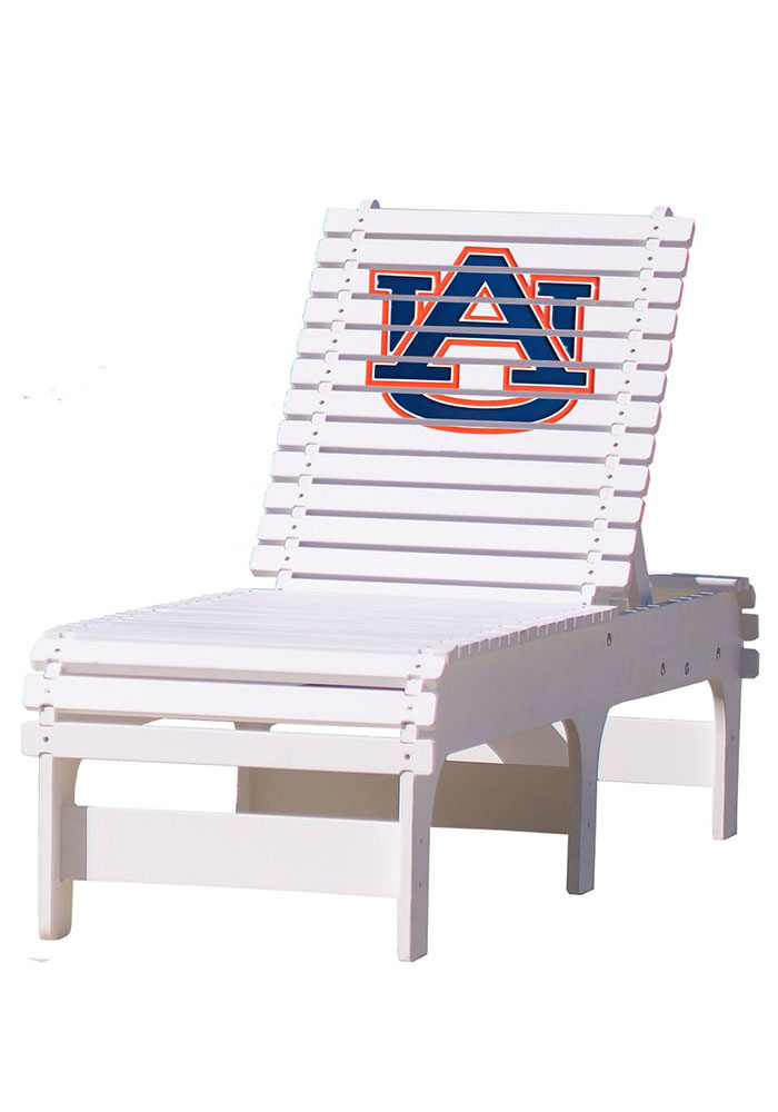 Auburn Tigers Chaise Lounge Beach Chairs - Image 1