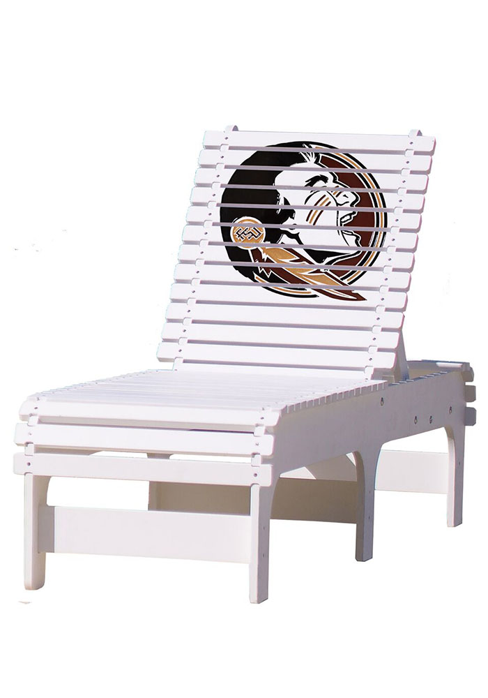 Florida State Seminoles Chaise Lounge Beach Chairs - Image 1