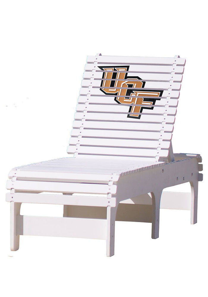 UCF Knights Chaise Lounge Beach Chairs - Image 1