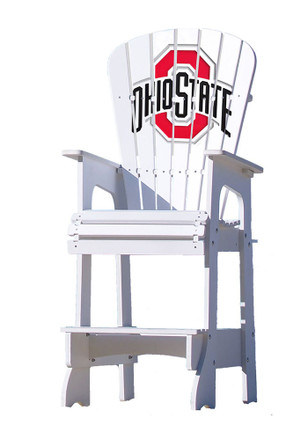 Ohio State Buckeyes Lifeguard Style Beach Chairs