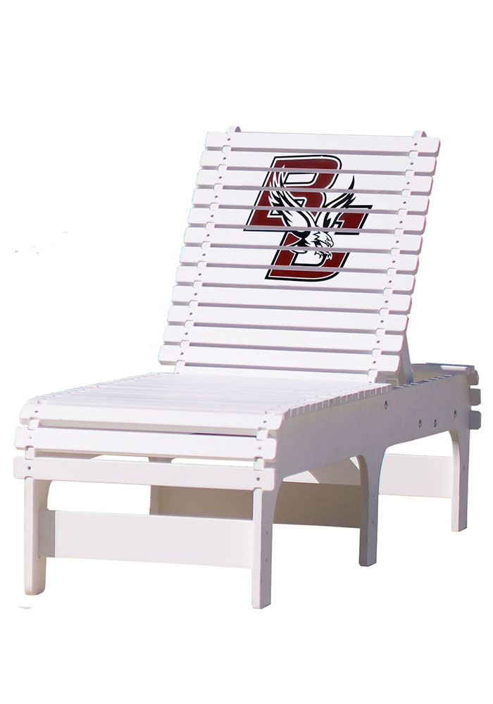 Boston College Eagles Chaise Lounge Beach Chairs - Image 1
