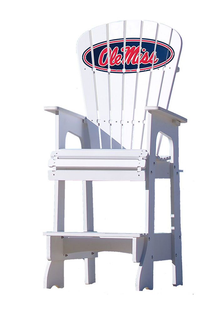 Ole Miss Rebels Lifeguard Style Beach Chairs - Image 1