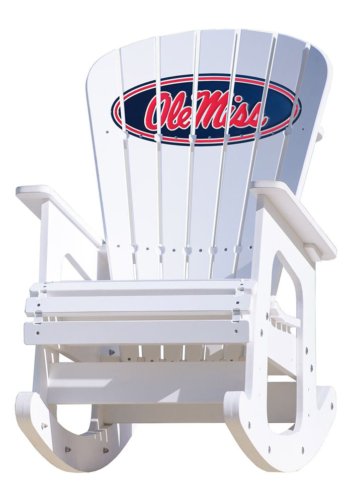 Ole Miss Rebels Rocking Beach Chairs - Image 1