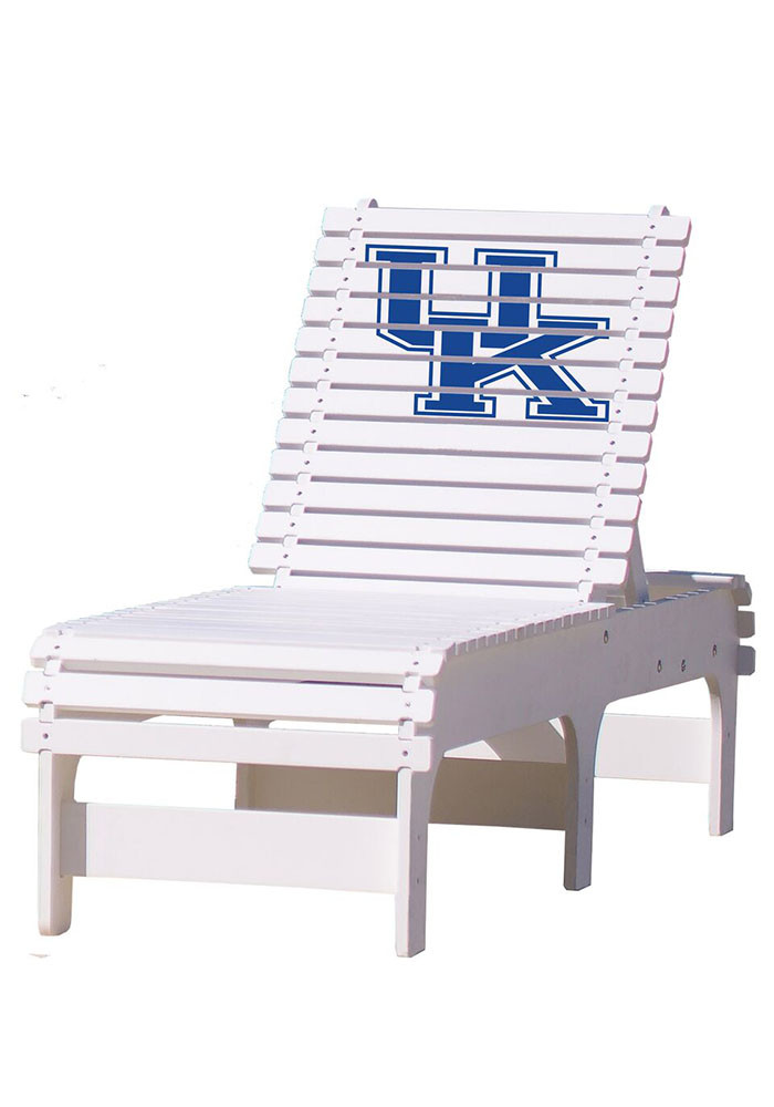 Kentucky Wildcats Chaise Lounge Beach Chairs - Image 1