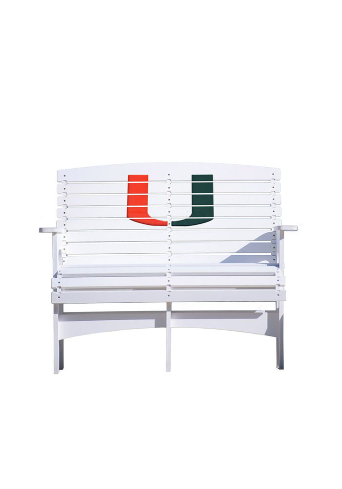 Miami Hurricanes Bench Beach Chairs - Image 1