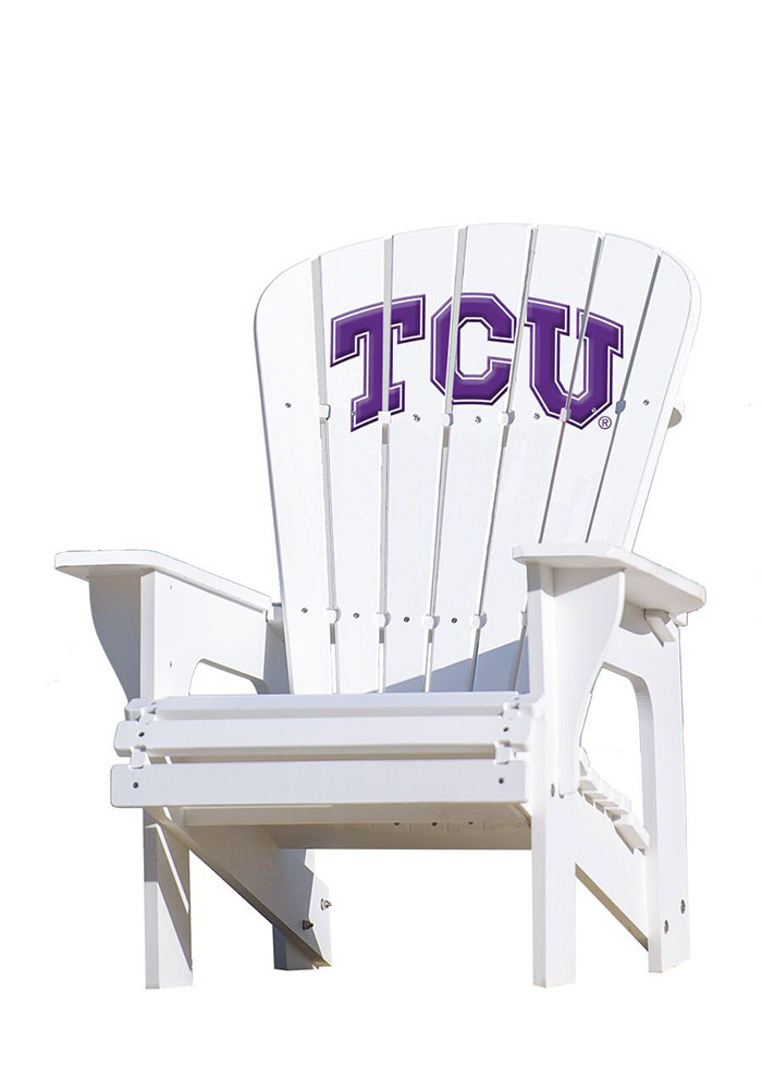 TCU Horned Frogs Adirondack Beach Chairs - Image 1