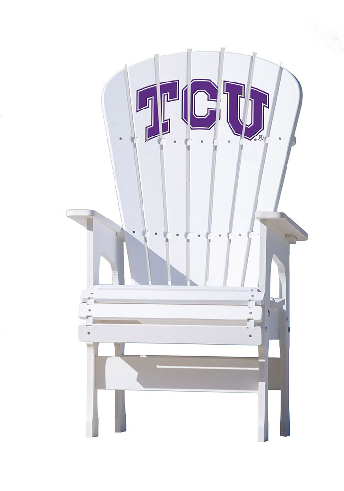 TCU Horned Frogs High Top Beach Chairs - Image 1