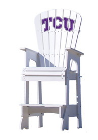 TCU Horned Frogs Lifeguard Style Beach Chairs