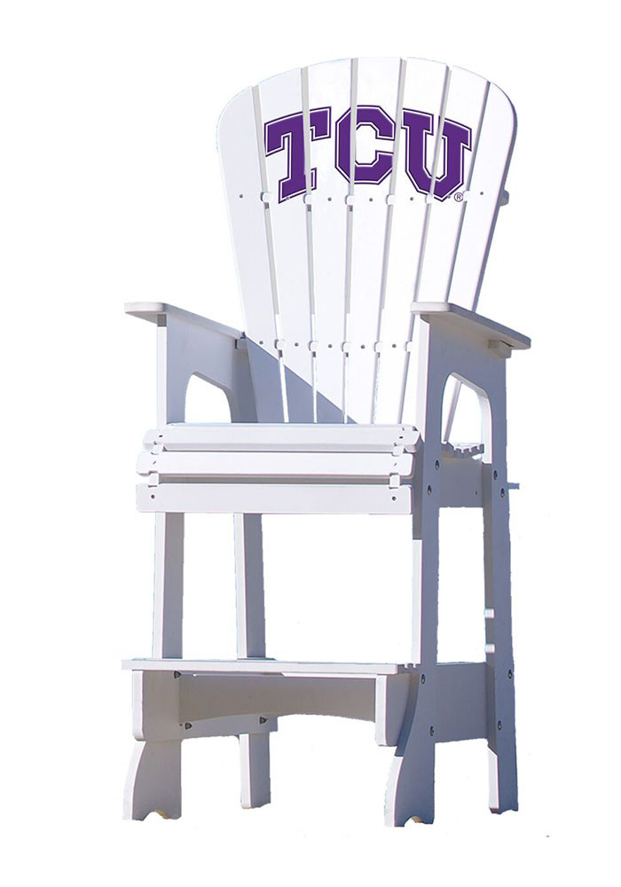TCU Horned Frogs Lifeguard Style Beach Chairs - Image 1