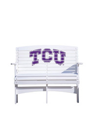 TCU Horned Frogs Bench Beach Chairs