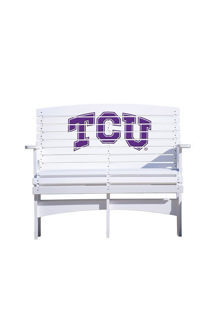 TCU Horned Frogs Bench Beach Chairs - Image 1