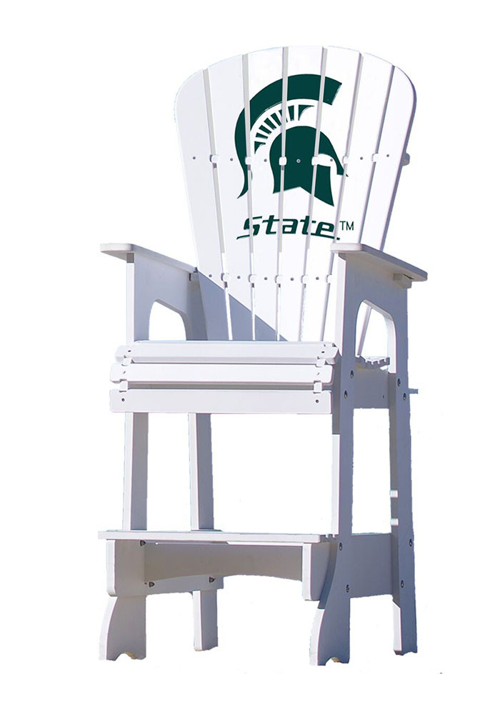 Michigan State Spartans Lifeguard Style Beach Chairs - Image 1