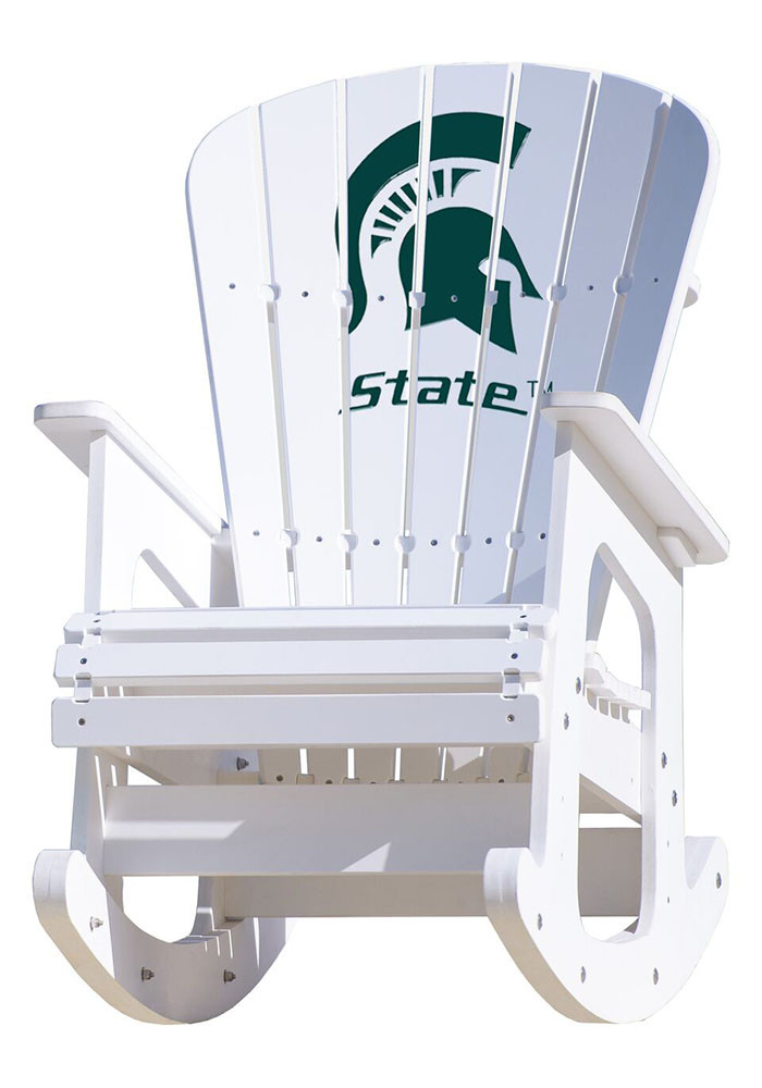 Michigan State Spartans Rocking Beach Chairs - Image 1