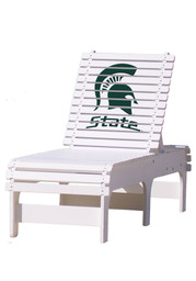 Michigan State Spartans Chaise Lounge Beach Chairs