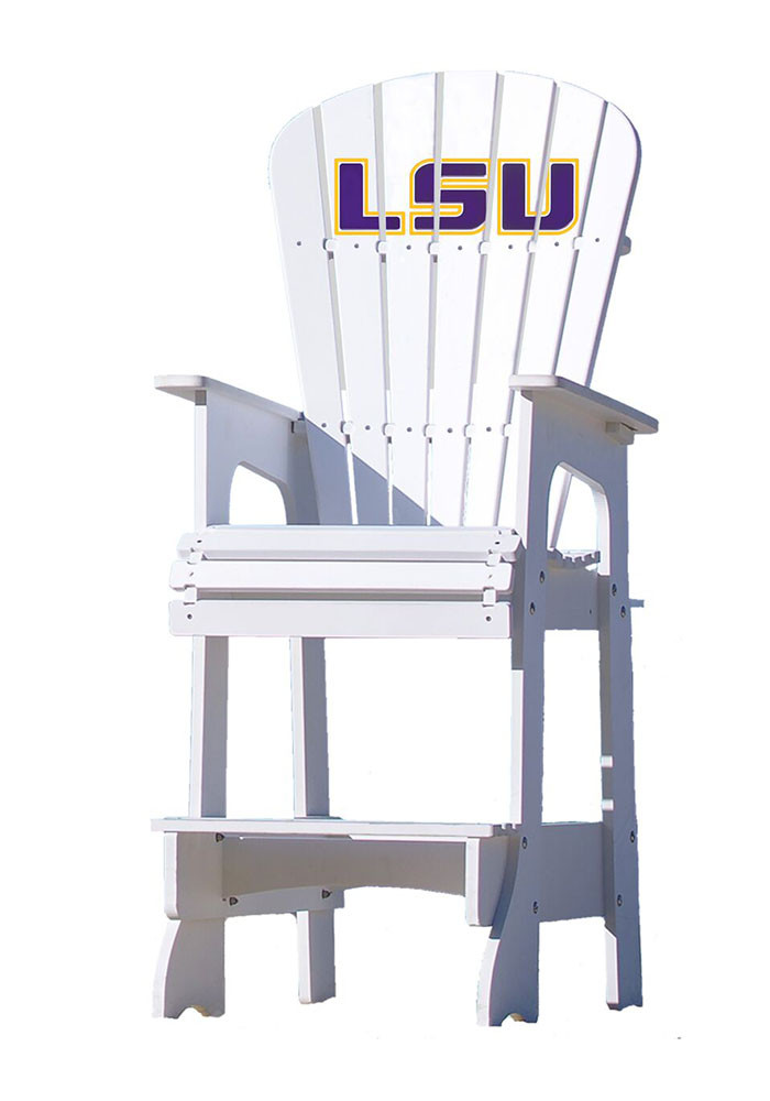 LSU Tigers Lifeguard Style Beach Chairs - Image 1