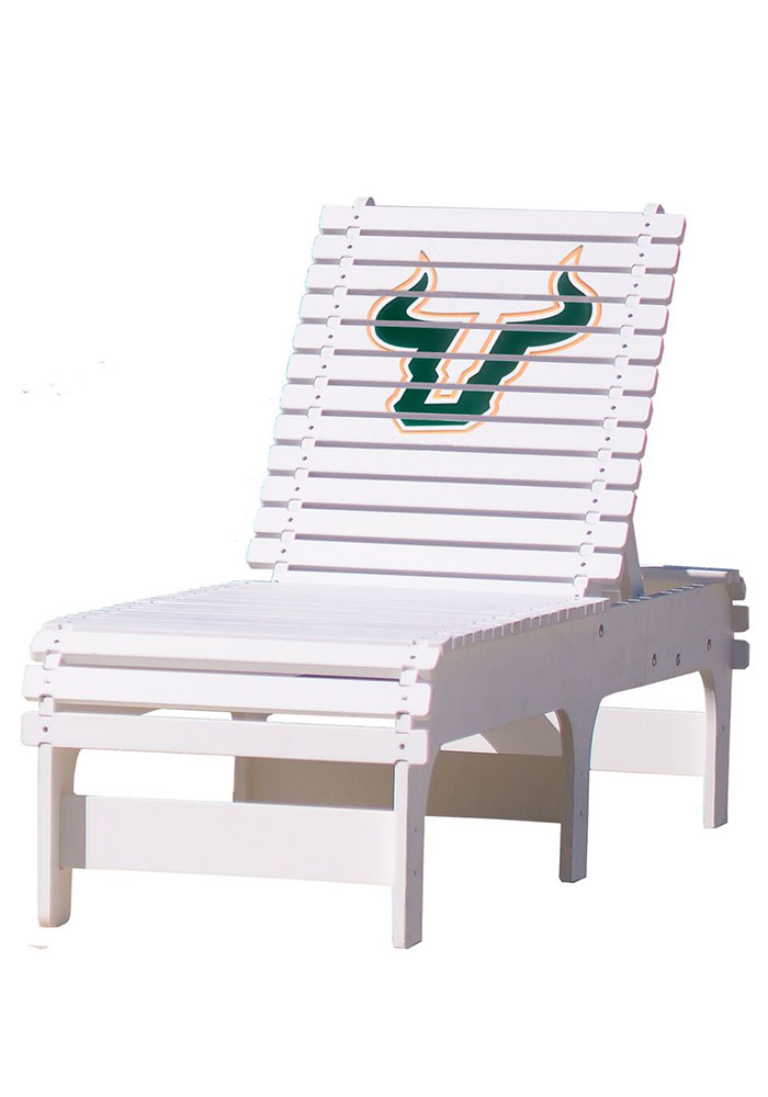 South Florida Bulls Chaise Lounge Beach Chairs - Image 1