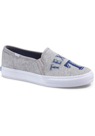 Texas Rangers Grey Keds Double Decker Womens Shoes