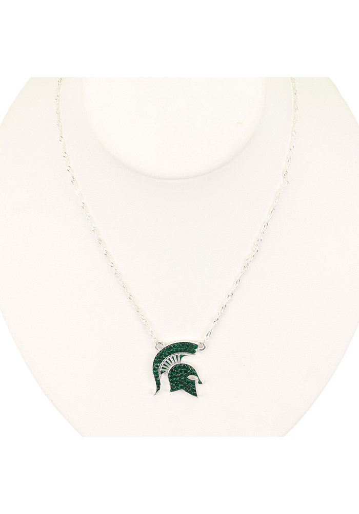 Michigan State Spartans Bling Necklace