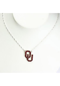 Oklahoma Sooners Bling Necklace