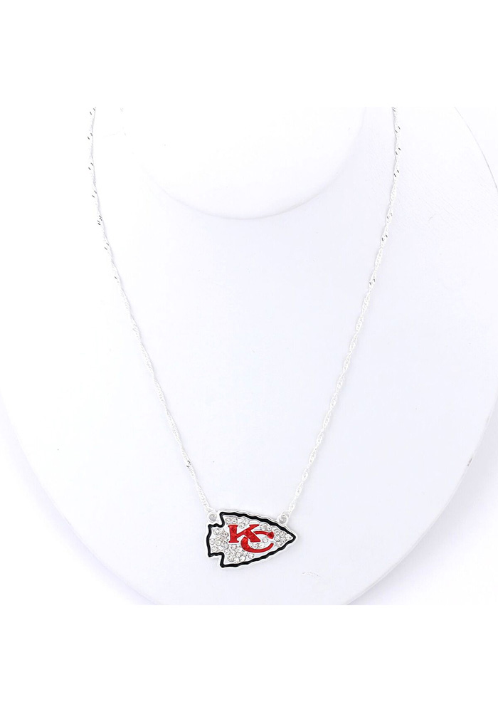 Kansas City Chiefs Bling Necklace - Image 1