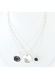 Penn State Nittany Lions Trio Necklace