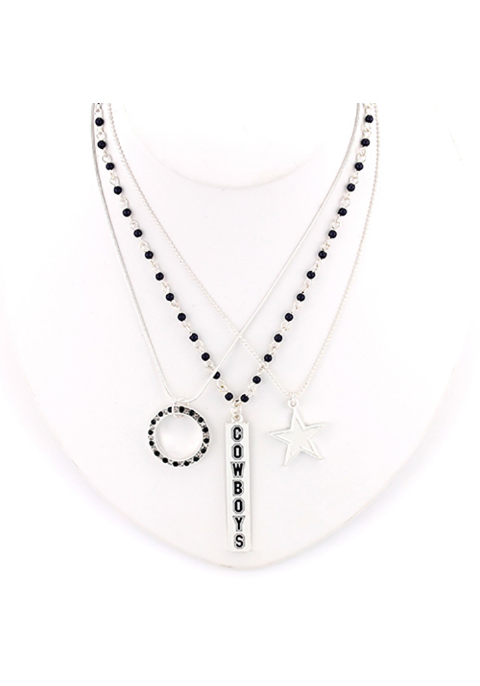 Dallas Cowboys Trio Necklace - Image 1