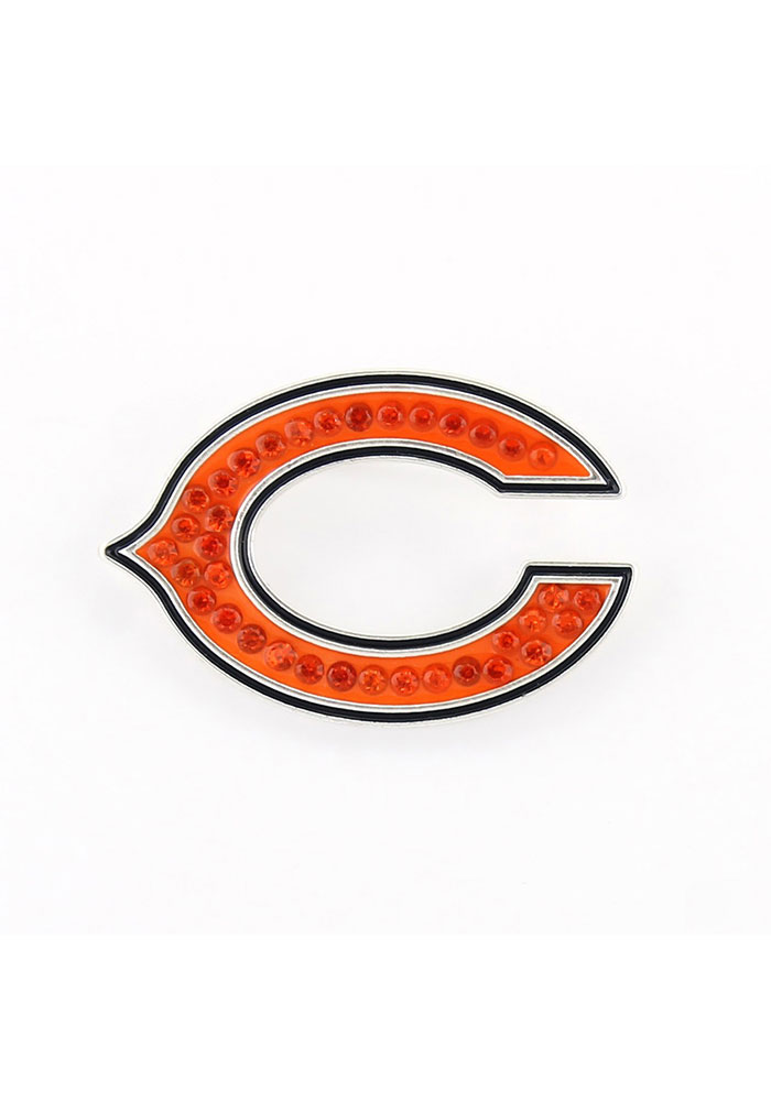 Chicago Bears Bling Pin