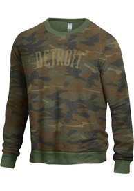 Detroit Champ Crew Crew Sweatshirt - Green