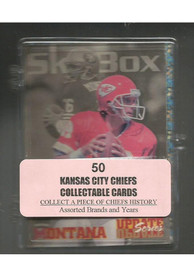Kansas City Chiefs 50 Pack Collectible Football Cards