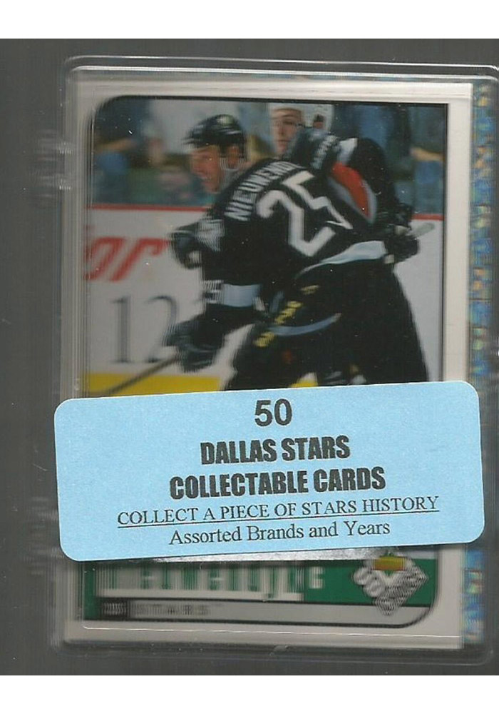 Dallas Stars 50 Pack Collectible Hockey Cards - Image 1