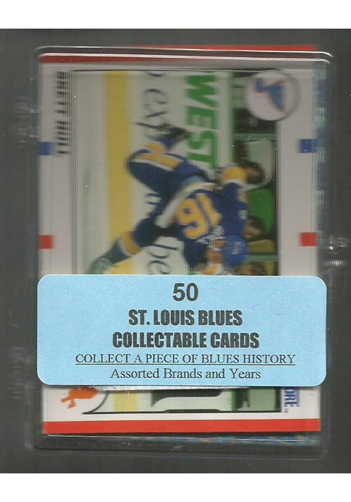 St Louis Blues 50 Pack Collectible Hockey Cards - Image 1