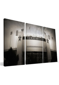 Vanderbilt Commodores Stadium 24x48 Canvas Print Wall Art