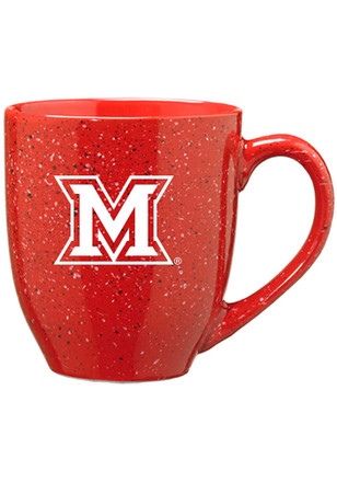 Miami Redhawks 16oz Bistro Speckled Mug
