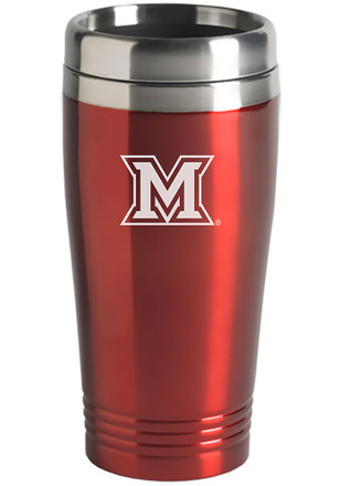 Miami Redhawks 16oz Stainless Steel Travel Mug