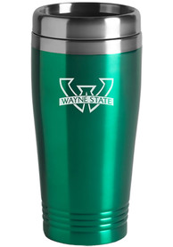 Wayne State Warriors 16oz Stainless Steel Travel Mug