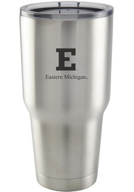 Eastern Michigan Eagles 30oz Stainless Steel Tumbler - Silver