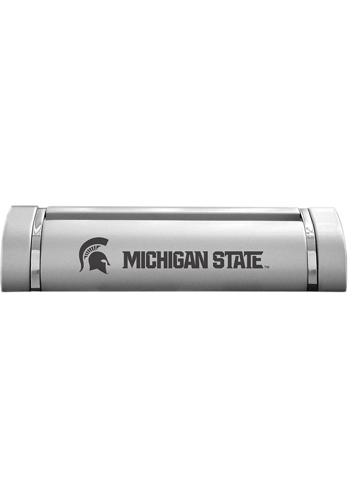 Michigan State Spartans Two-Tone Business Card Holder - Image 1