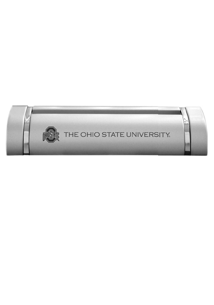 Ohio State Buckeyes Two-Tone Business Card Holder - Image 1