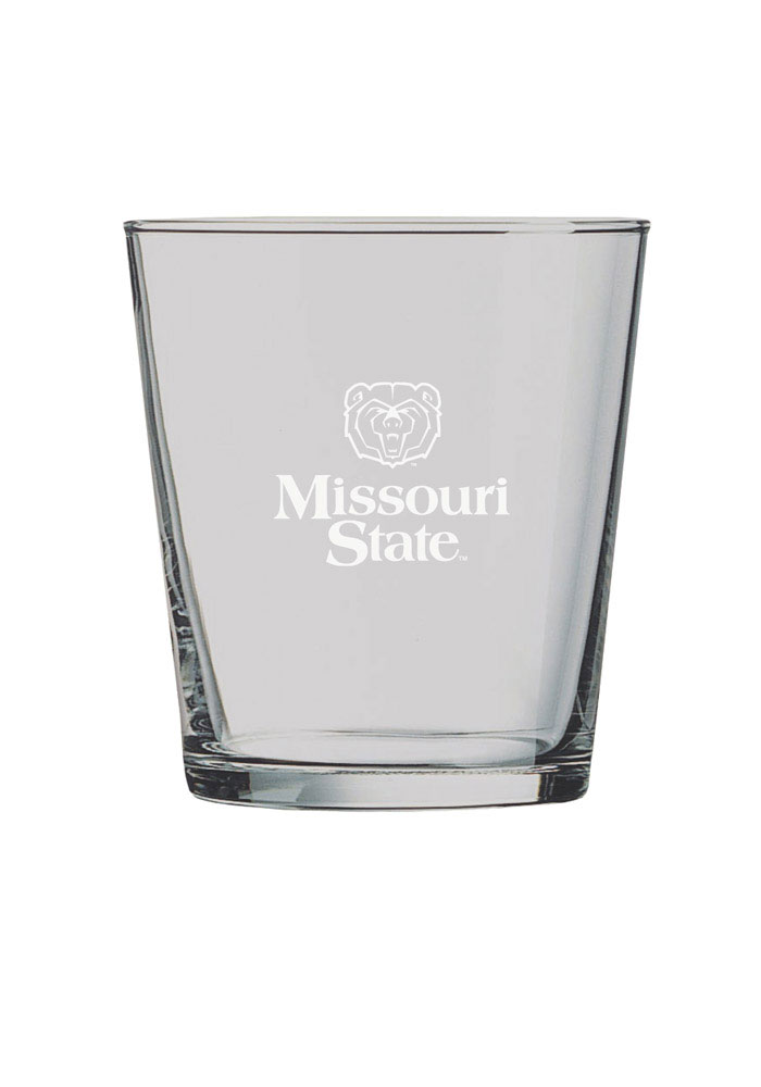 Missouri State Bears Frosted Logo Rock Glass - Image 1