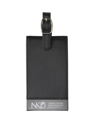 Northern Kentucky Norse Black Team Logo Luggage Tag