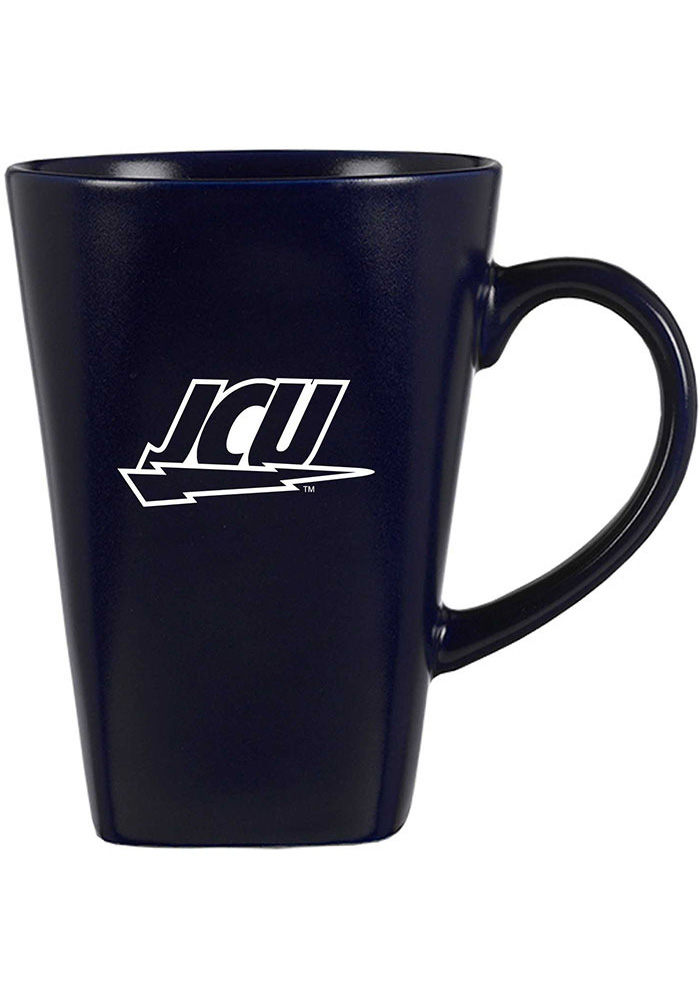 John Carroll Blue Streaks 15oz Square Cafe Mug - Image 1