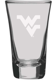 West Virginia Mountaineers 2oz glass Shot Glass