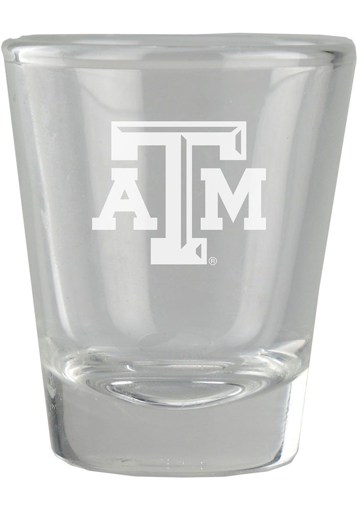 Texas A&M Aggies 2oz Etched Shot Glass